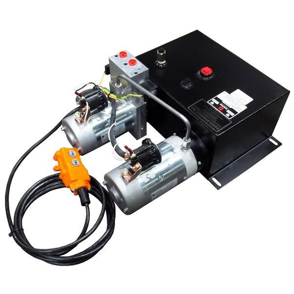 M-340 Bucher Hydraulics Dyna-Jack Power Unit