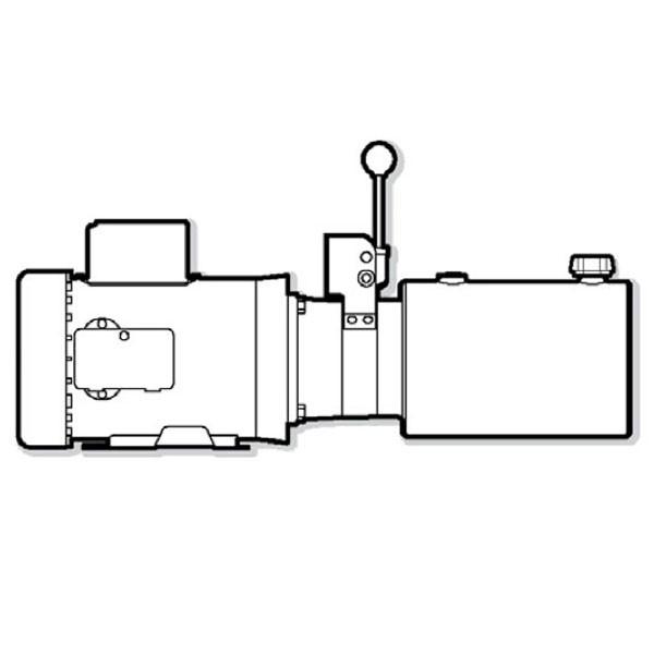 Monarch Hydraulics Power Unit Dyna-Pack M-4313
